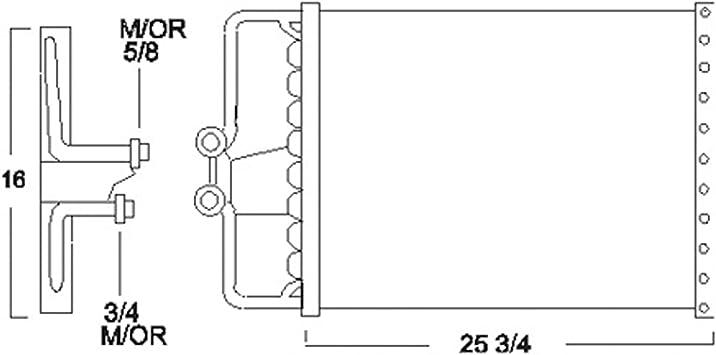 1991 pontiac 3 1 engine diagram amazon com cpp air conditioning condenser for 86 91 chevrolet  cpp air conditioning condenser