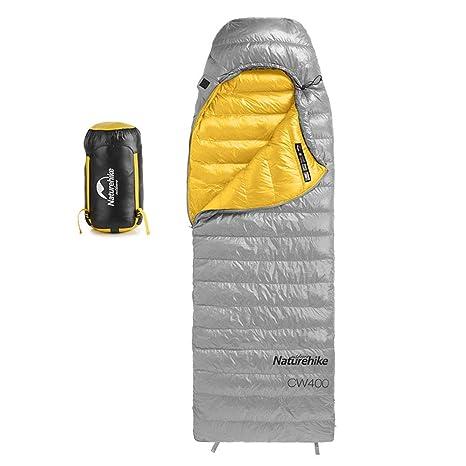 Al Aire Libre Impermeable Ganso Abajo Grueso Sleeping Saco Ultraligero de Aislamiento Térmico con Saco de