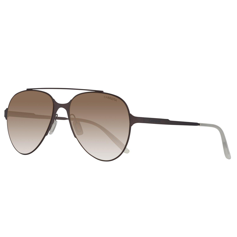 Carrera 113/s Aviator Sunglasses, MATT Brown, 57 mm