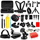 Soft Digits Accessories Kit for GoPro Hero 5 4 3+ 3 2 1 Session Accessory ...