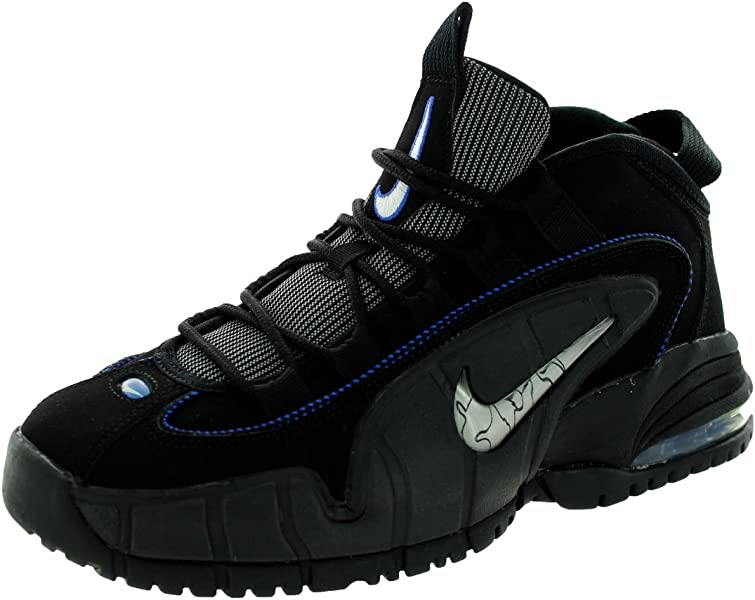 wholesale dealer 78d52 08442 Nike Air Max Penny (GS) Boys Basketball Shoes 315519-014 Black White-