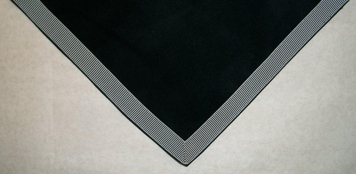 Sanders Classics 44'' Black Card (Bridge) Table Cover