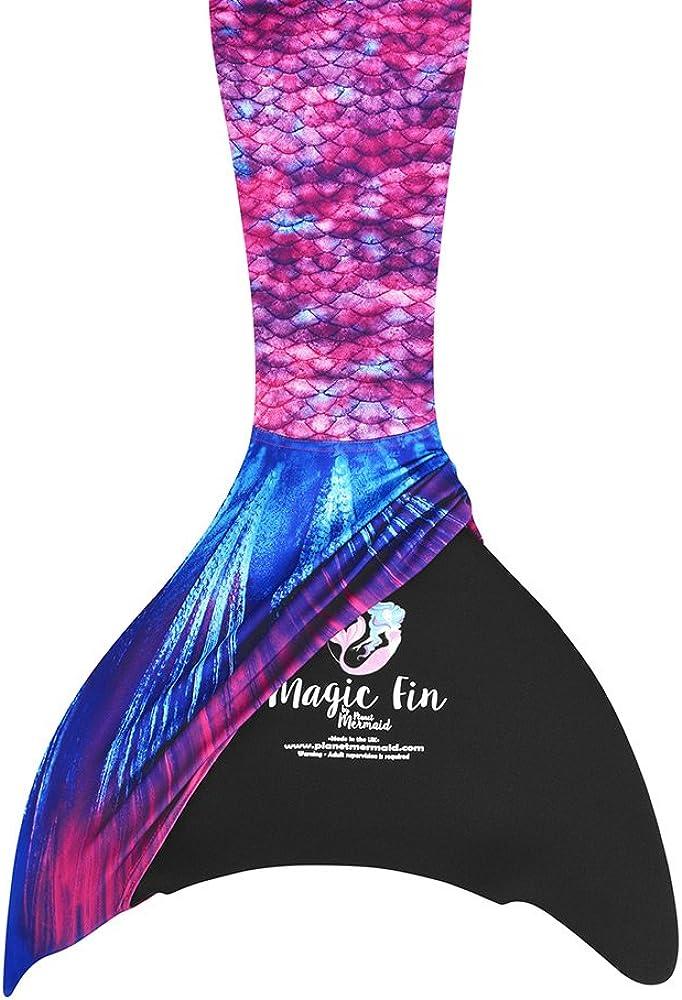 Planet Cola de Sirena con Monofin y Top para Nadar y Disfraz. para ...