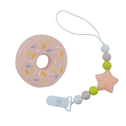 bebé de silicona BPA INCHANT juguete de la dentición ...