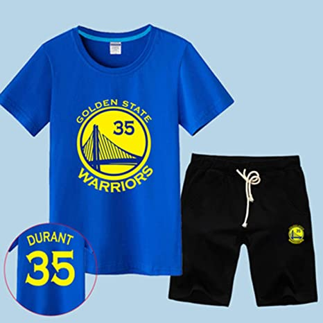 T-SHIRT Conjunto De Camiseta De Fan De La NBA Golden State ...