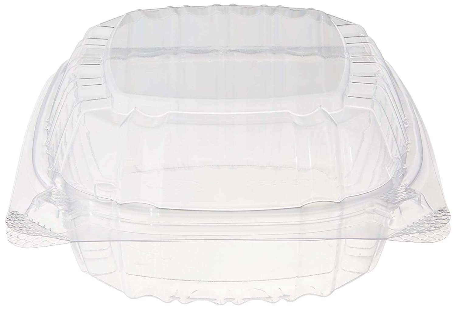 "Dart Container Dart 5"" Clear Hinged Plastic Food Take Out To-Go/Clamshell Container 100 Pack (pack of 100)"
