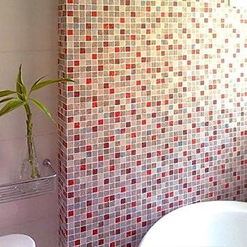 funlife 50 x 50 cm/19,7 x19.7dans Badezimmer Fliesen Mosaik ...