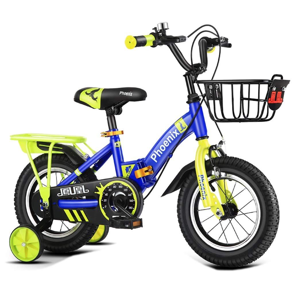 人気商品の 子供用自転車 ファッション子供用ペダル 三輪自転車、屋外ペダル用自転車 男の子と女の子用自転車 Blue 23歳の子供用自転車 (Color : B07Q1718R1 Blue, Size Size : 16 inches) 16 inches Blue B07Q1718R1, 津具村:e5653c35 --- senas.4x4.lt