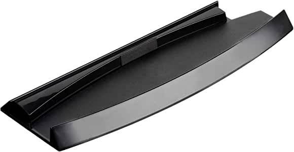 OSTENT Skid Proof Console Vertical Stand Compatible for Sony PS3 Slim Console Color Black