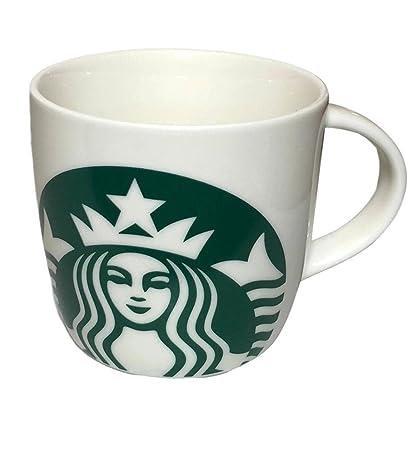 c456b23f9aa Amazon.com: Starbucks Logo Mug, 14oz: Kitchen & Dining
