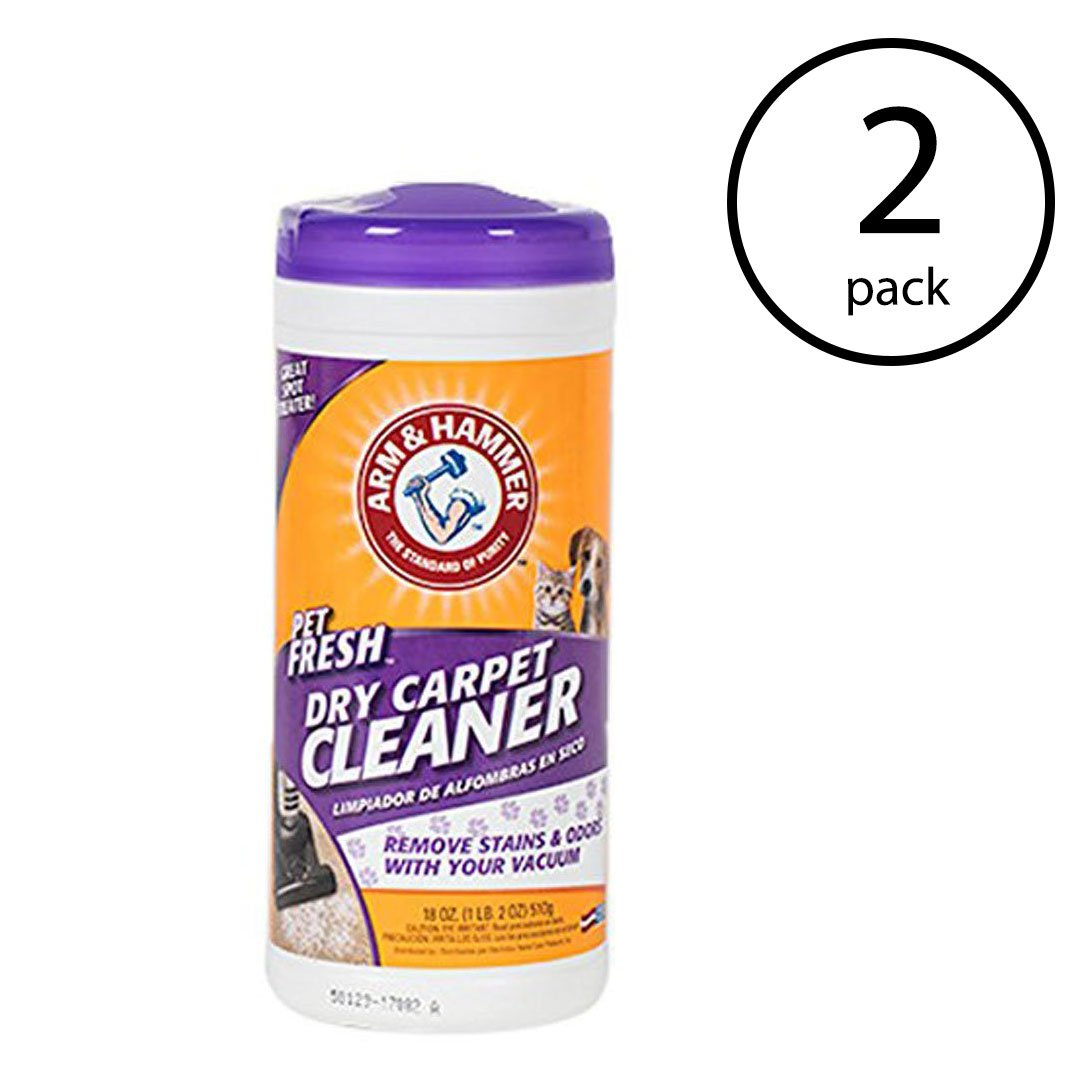Arm & Hammer Pet Fresh Formula Dry Carpet Stain Remover and Cleaner (2 Pack) by Arm & Hammer