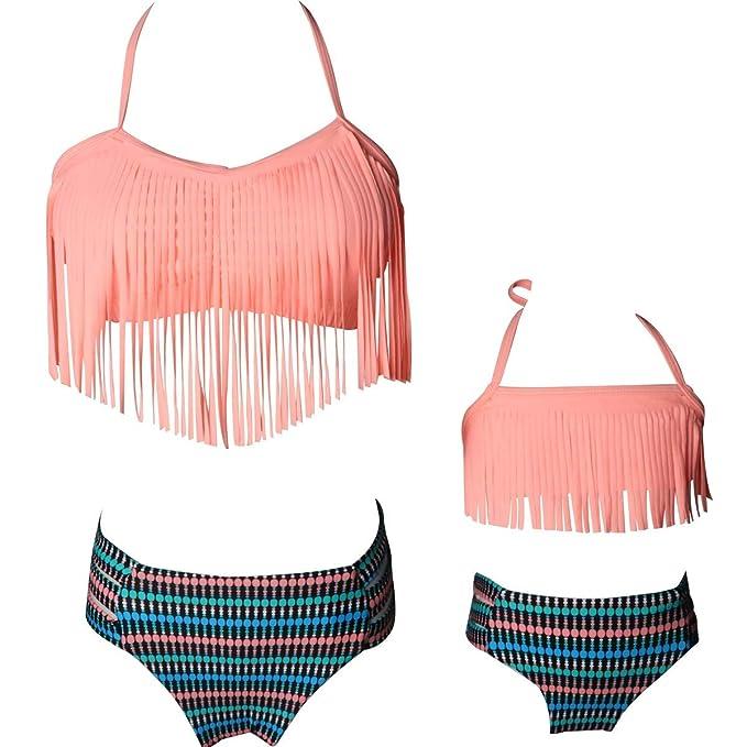 Amazon.com: Mammy and Me - Trajes de baño de cintura alta ...