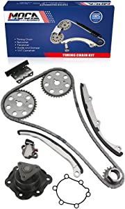 MOCA Timing Chain Kit with Water Pump for 1991-1998 Saturn SC SC2 & Saturn SL2 SW2 1.9L L4 DOHC 16 Valve 7 - Vin Code