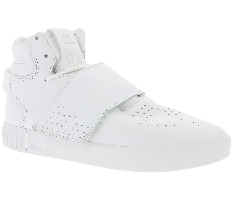 Adidas Tubular Invader Strap - Zapatillas Unisex Adulto 42 EU|Blanco