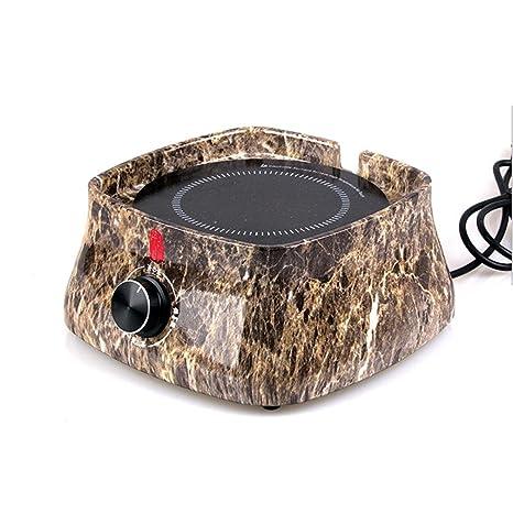 Dedicado tetera eléctrica horno de cerámica baquelita Madera Inteligente Inicio Mini Silencio hervido agua de cocción