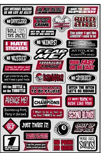 012) Sponsor/Logo Sticker Sheet (Factory Effex Logo Stickers)