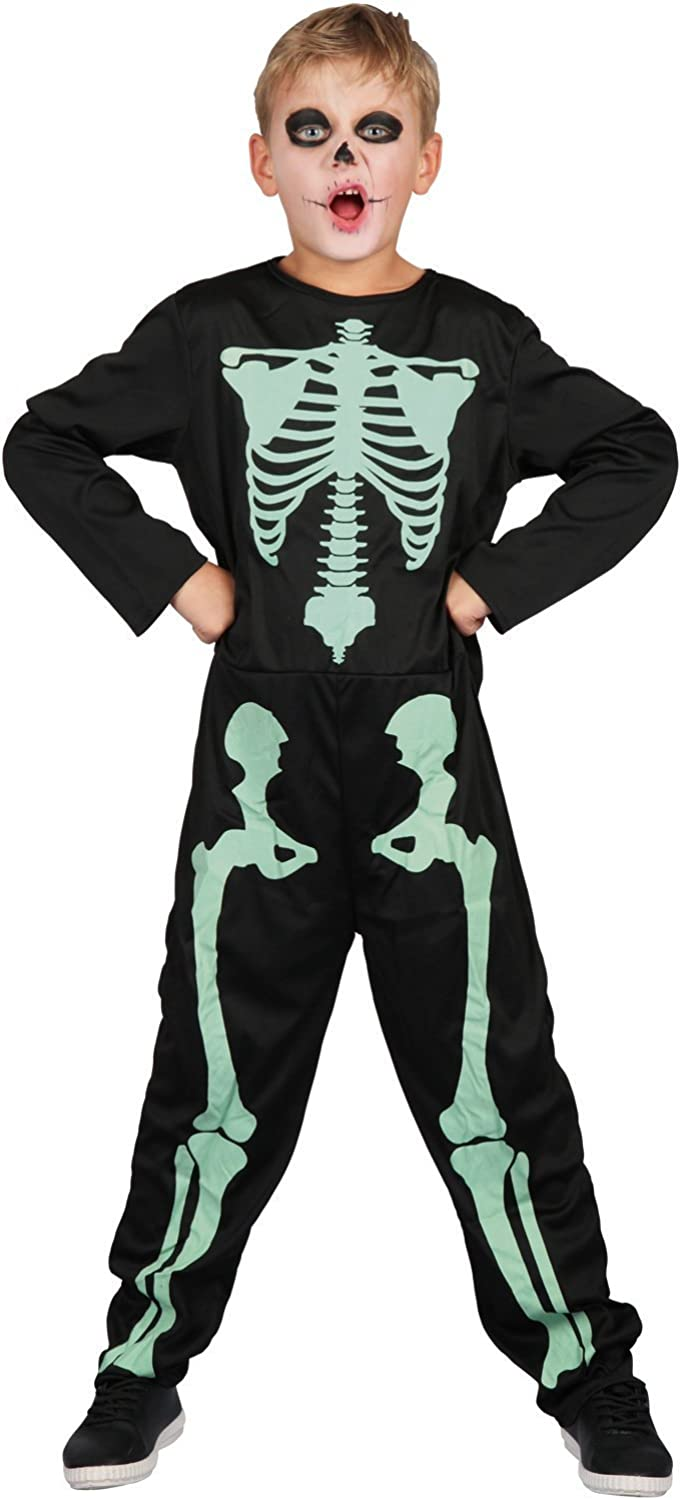 U LOOK UGLY TODAY Boys Skeleton Halloween Costumes for Kids Zombie Cosplay Dress Up Party