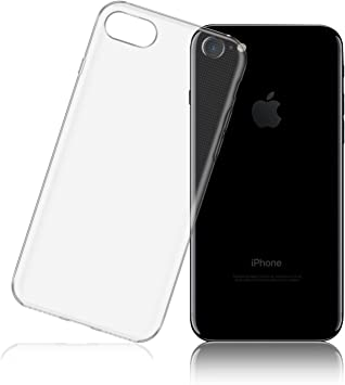 LafeiRabbit Funda iPhone 7, Transparente TPU Slim Silicona Carcasa ...
