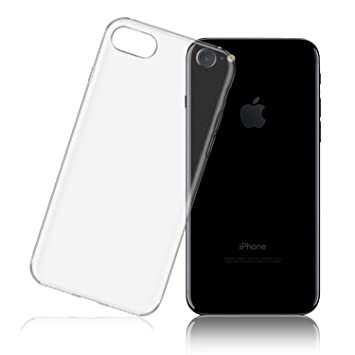 LafeiRabbit Funda iPhone 7, Transparente TPU Slim Silicona Carcasa para iPhone 7 (4.7