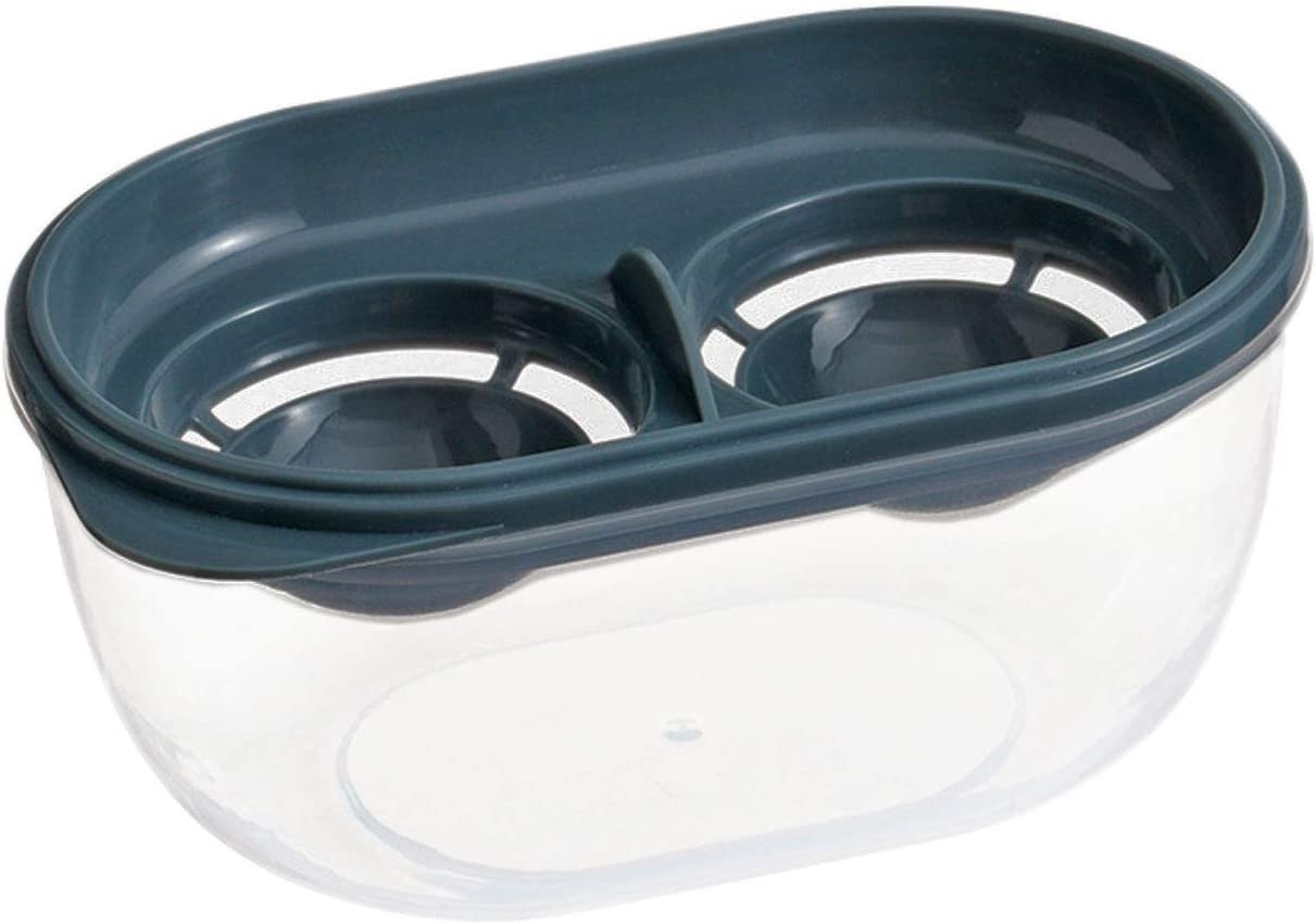 Egg Separator Food Grade Plastic Kitchen Gadgets Egg White Yolk Filter With Storage Box Cooking Baking Extractor Tool