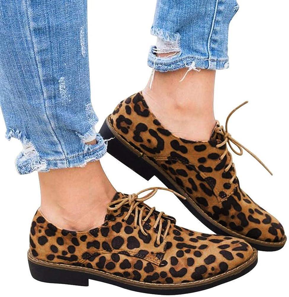 leopard print ankle boots flat