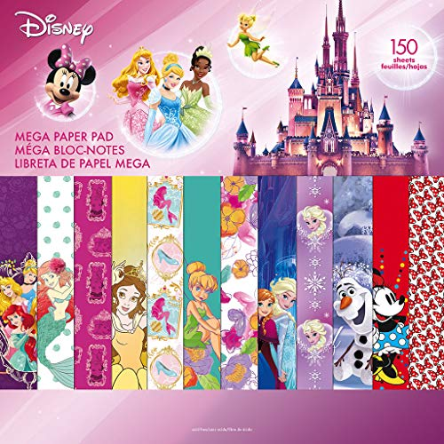 Trends International Mega Paper Pad 150 Page Disney Girl
