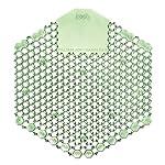 Fresh Products 3WDS60CME Wave 3D Urinal Deodorizer Screen, Green, Cucumber Melon Fragrance, 10 Per Box