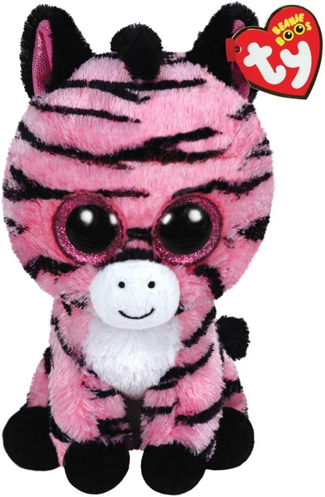 Alaska Stuffed Animals, Amazon Com Ty Beanie Boos Zoey The Pink Zebra Plush Toys Games