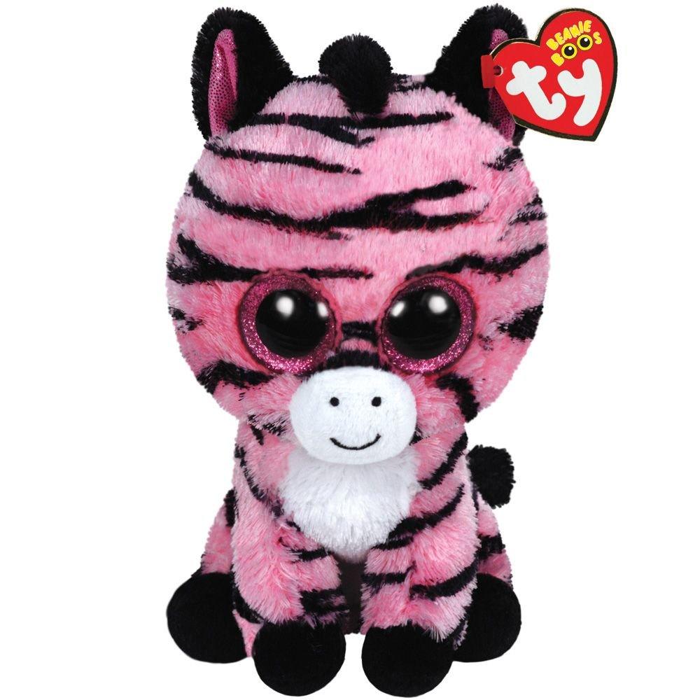 Ty - Zoey, Peluche Zebra, 23 cm, Color Rosa (37035TY): Amazon.es: Juguetes y juegos