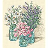 Dimensions Needlecrafts Counted Cross Stitch, Wildflower Trio