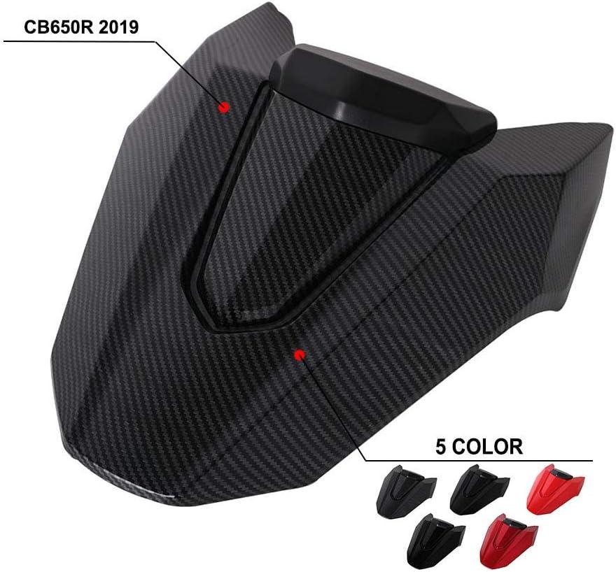Coprisedile posteriore per moto in fibra di carbonio YSMOTO per Honda CB650R 2019-2020