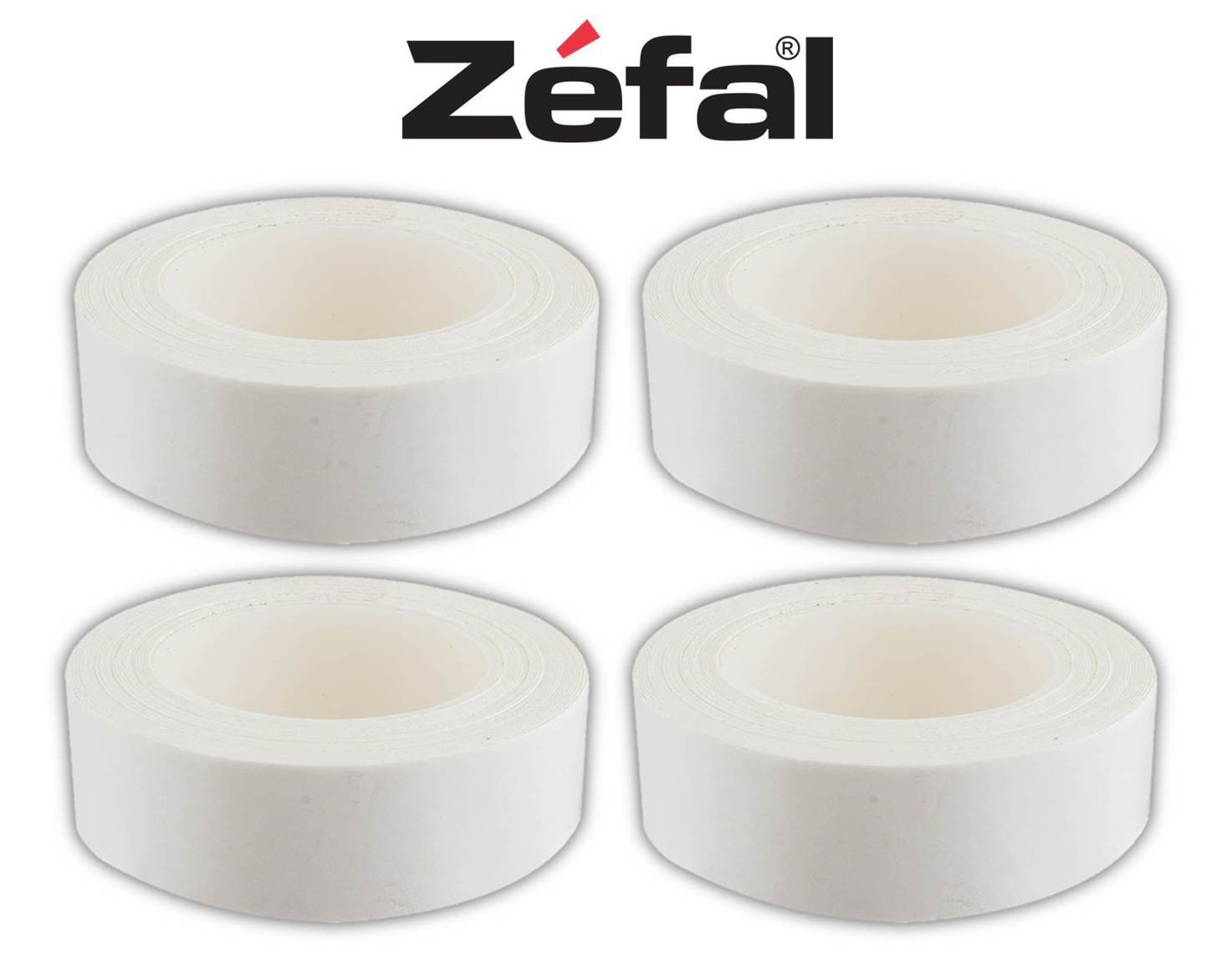 Zefal Tubular Tire Bike Rim Tape - Designed for Road CX 700c Tires - 4 PACK