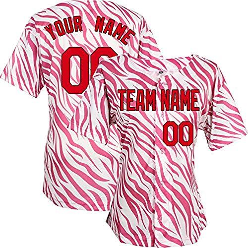 YNMYS Custom Football Team Designated Player Game Jersey #3-#18Youth SRed-Black