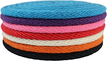 Aoneky Braided Cotton Rope 3//8 inch x 200 ft