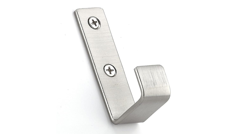 Richelieu Hardware RH3503301195 Utility Metal Hook Brushed Nickel Finish