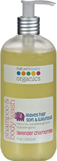product image for Nature'S Baby Organics Shmp&Bdy Wsh Lvndr/Cham 16 Fz