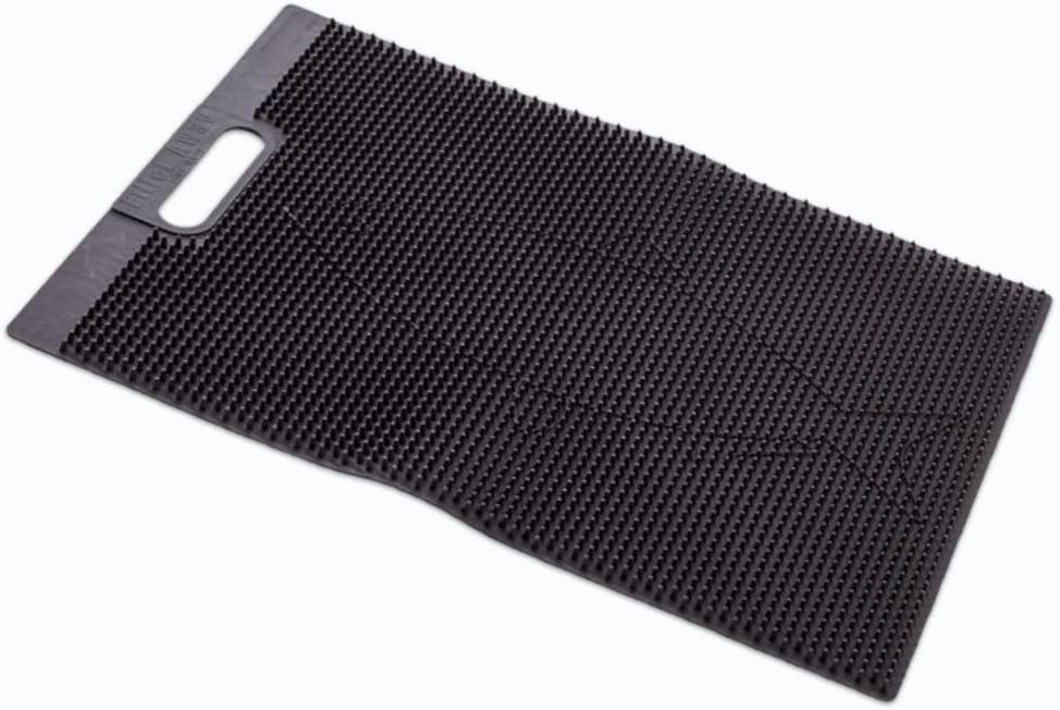 """Fillet Away Fish Mat Grips Fish for Easy Filleting, No Fillet Board Clamp Needed, Heavy-Duty Rollable Bait Cutting Board, Dishwasher Safe Fish Cleaning Board, 100% Recyclable, Made in the USA, 14""""x19"""""""