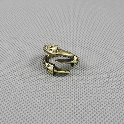 1 PCS Jewelry Fashion Charms Finger Ring 02745 Bronze Claw Talon