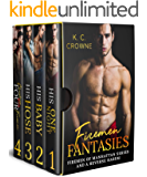 Firemen Fantasies: Firemen of Manhattan Series and A Reverse Harem Box Set