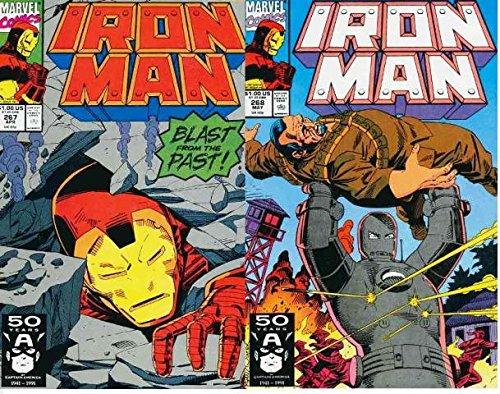 IRON MAN 267-268 Origin of Iron Man...'nuff said.