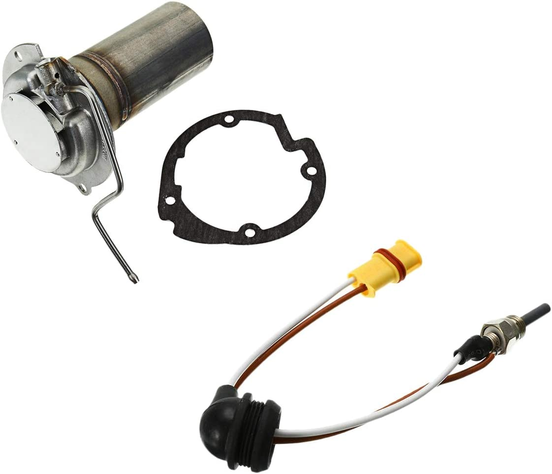 Nrpfell 5KW Parking Heater Burner Insert Torches Burner Gaskets with 24V Silicon Nitride Parking Heater Ceramic Glow Plug
