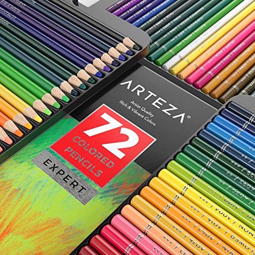 Arteza Professional Colored Pencils (Set of 72) Photo #8