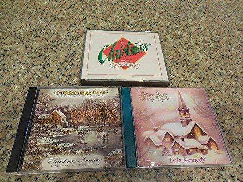 (5 X-mas CD's Silent Night- CurrierIves -3 CD Set All-Time X-mas Fav)