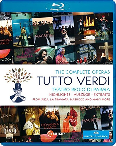 G. Verdi - Tutto Verdi Highlights (Blu-ray)