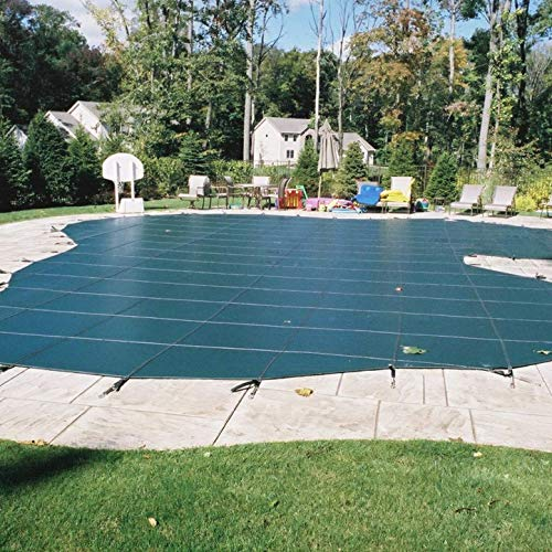 Meyco Swimming Pool Safety Cover 20 x 40 Foot Warranty Backed and Ultra Durable