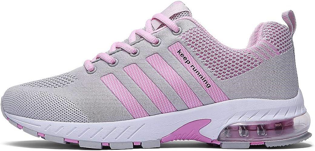 Fushiton - Zapatillas de Running para Hombre Verde Verde 42, Color, Talla 39 1/3: Amazon.es: Zapatos y complementos