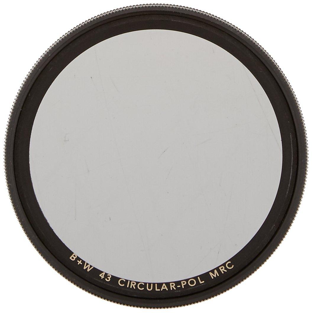 B+W 43MM Circular Polarizer Multi-Resistant Coating