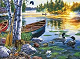 Buffalo Games - Darrell Bush - Lakeside Morning - 1000 Piece Jigsaw Puzzle