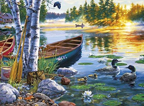 - Buffalo Games - Darrell Bush - Lakeside Morning - 1000 Piece Jigsaw Puzzle