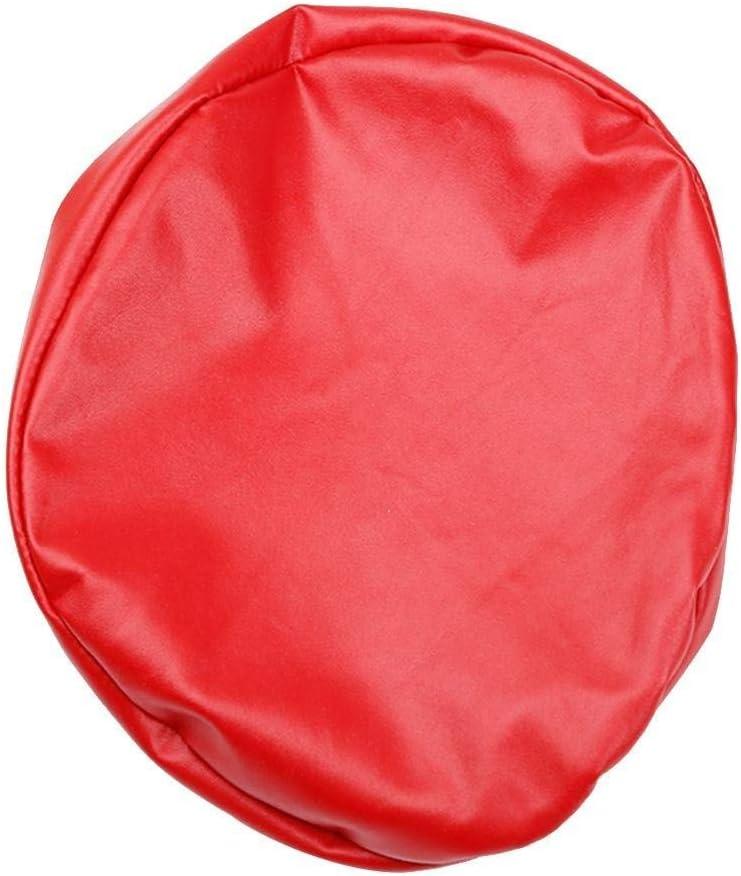 30 cm Cuir Homclo Housse de Protection en Cuir pour Tabouret Rond Housse Tabouret Tabouret Rond de diff/érentes Tailles et Couleurs Noir